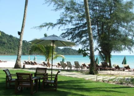 Ко Kut Ао Phrao Beach Resort.