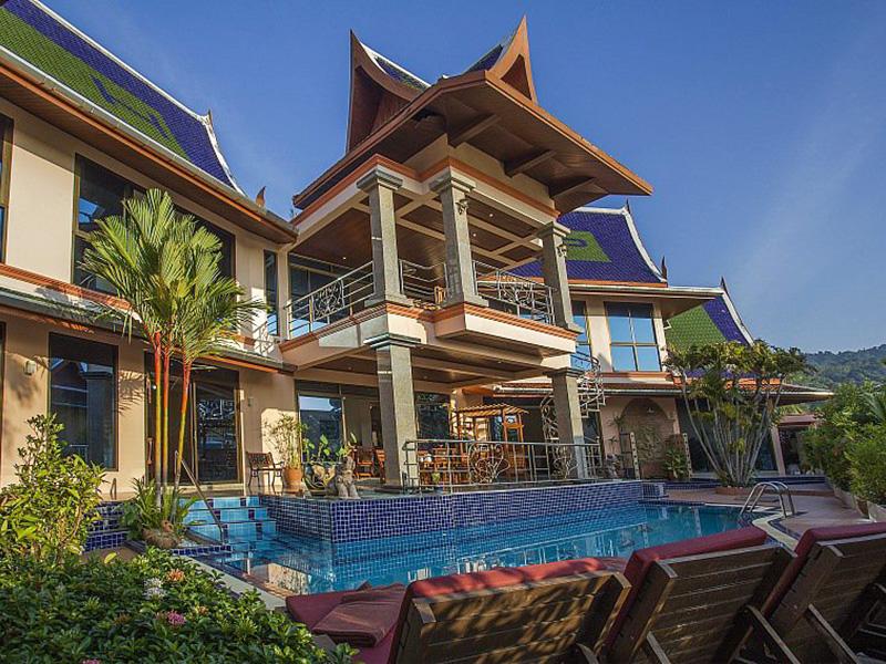 บ้าน ทรงไทย วิลล่า