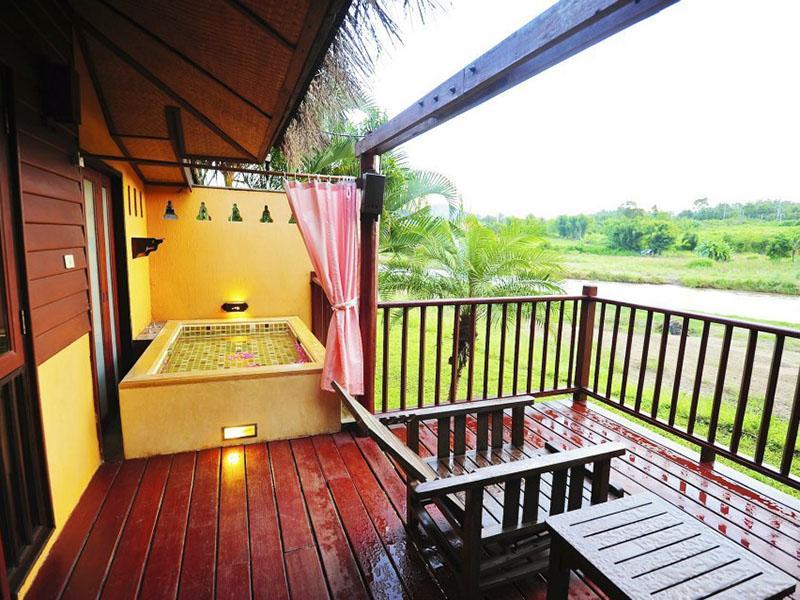 泰国有温泉的住处