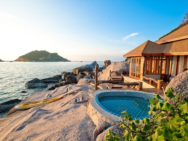 สุดยอดที่พักหลบร้อน ณ เกาะเต่า