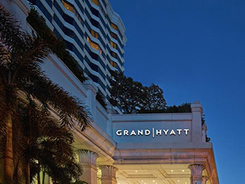 그랜드 하얏트 에라완 방콕 호텔