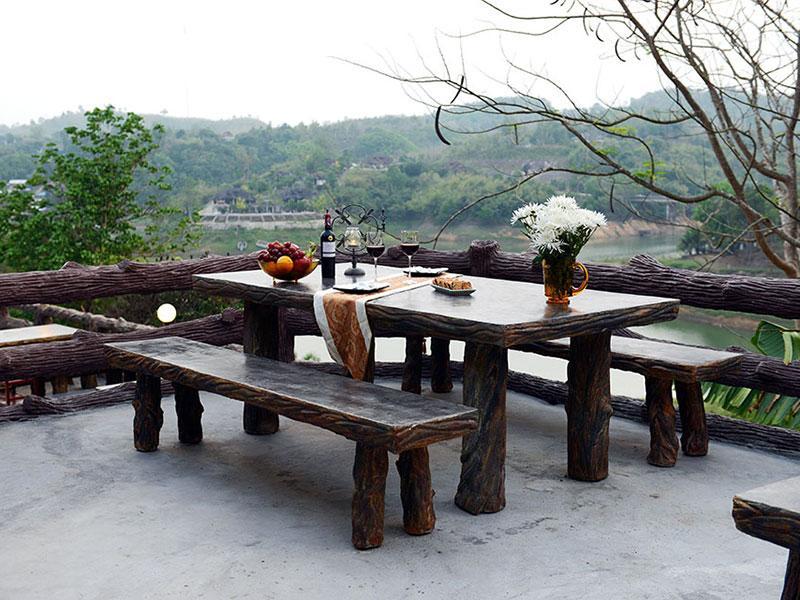 ที่พักกาญจนบุรี กลางธรรมชาติ วิวสวย