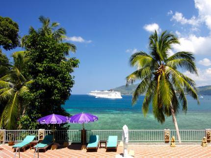 蓝色海滨度假村
