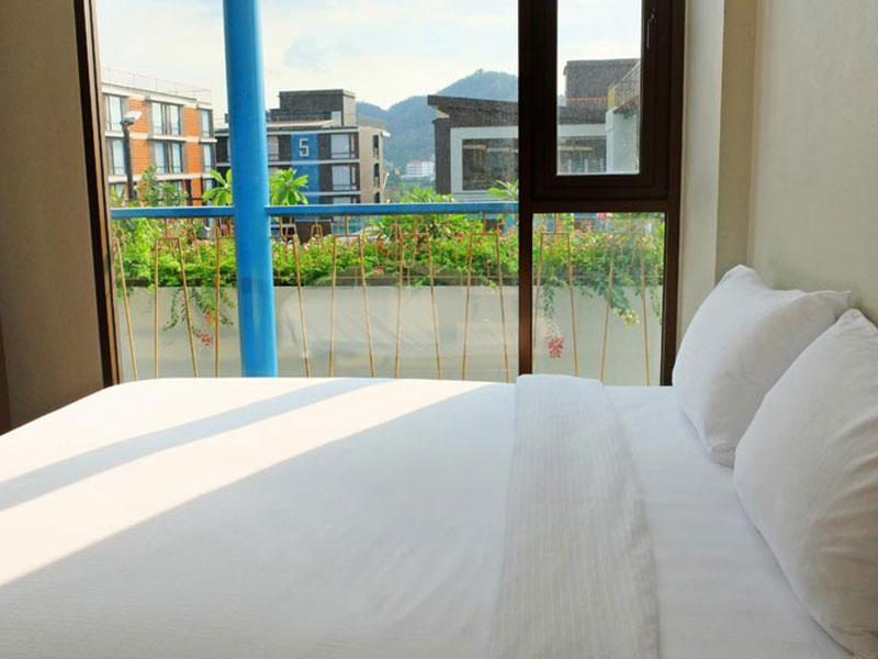 Balcony Courtyard Si Racha Hotel