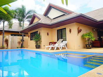 Over House Pool Villa