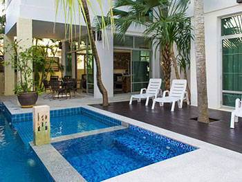 Plus C Pool Villa Jomtien