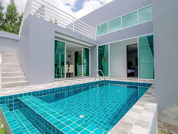 Gray Pool Villa