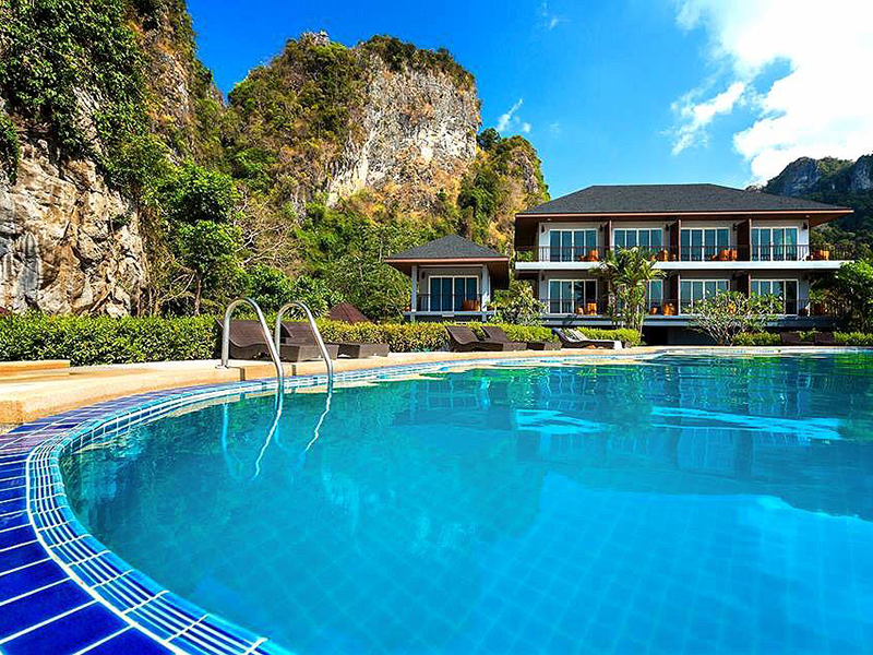 סמוך למלון Railay Phutawan Resort
