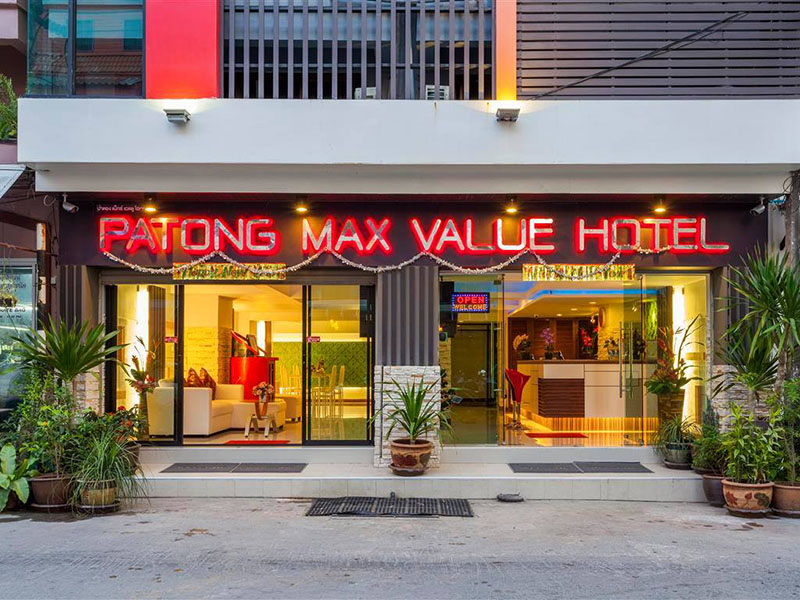 Hotels Nearby Patong Max Value Hotel