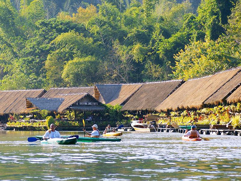 Hotellit River Kwai Jungle Rafts