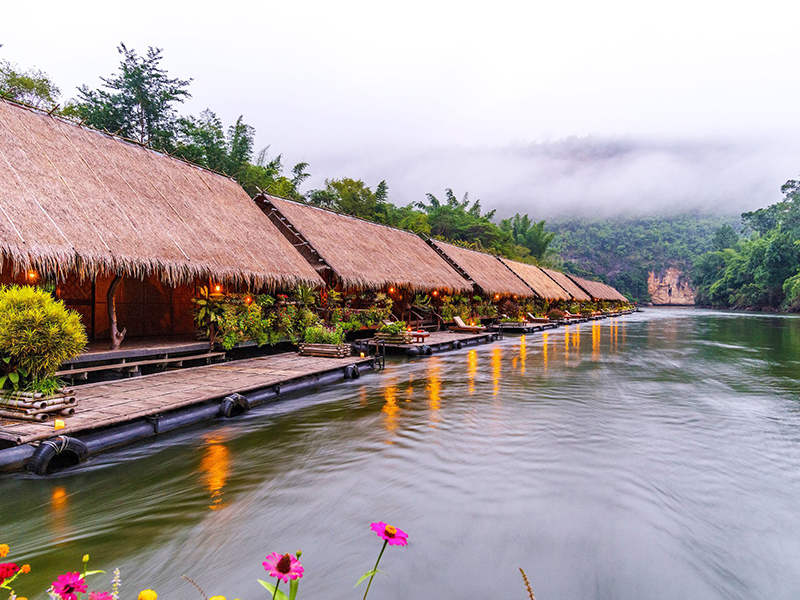 Image Hotel River Kwai Jungle Rafts