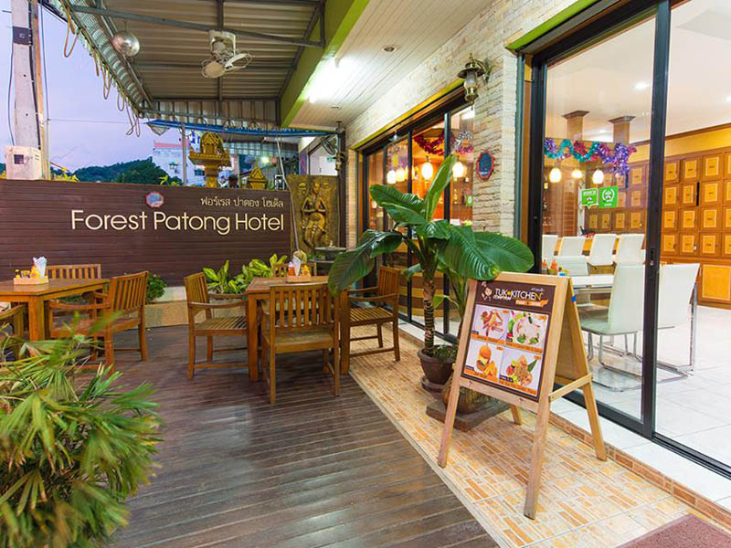 Hotels Nearby Forest Patong Hotel