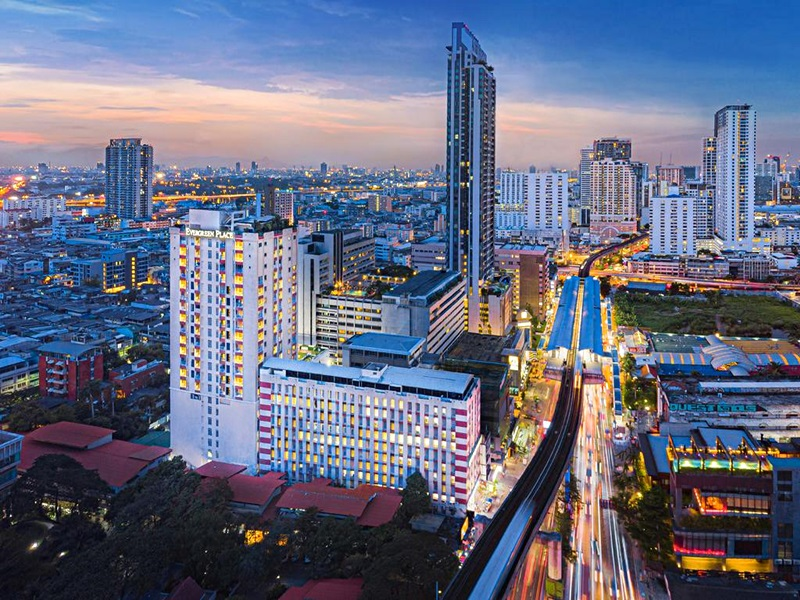 Image Hotel Evergreen Place Bangkok