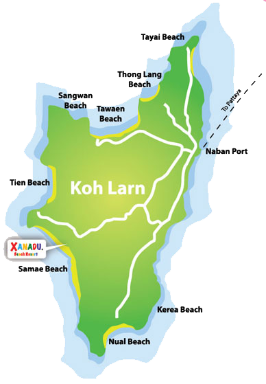 Xanadu Beach Resort Had Samae Koh Larn