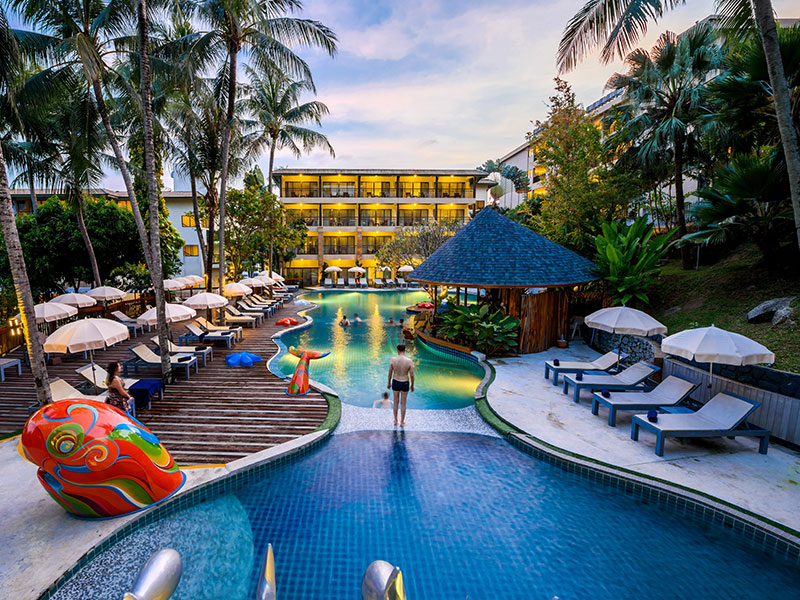 Hotels Nearby Peach Hill Resort Phuket
