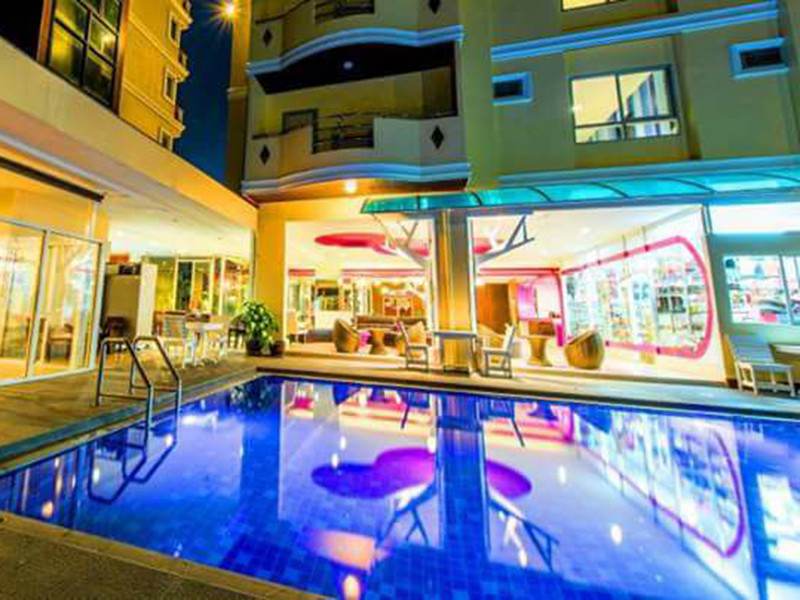 Hotels Nearby J A Villa Pattaya