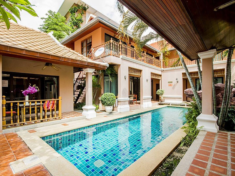 Hotels Nearby Impact Suite Pool Villa B