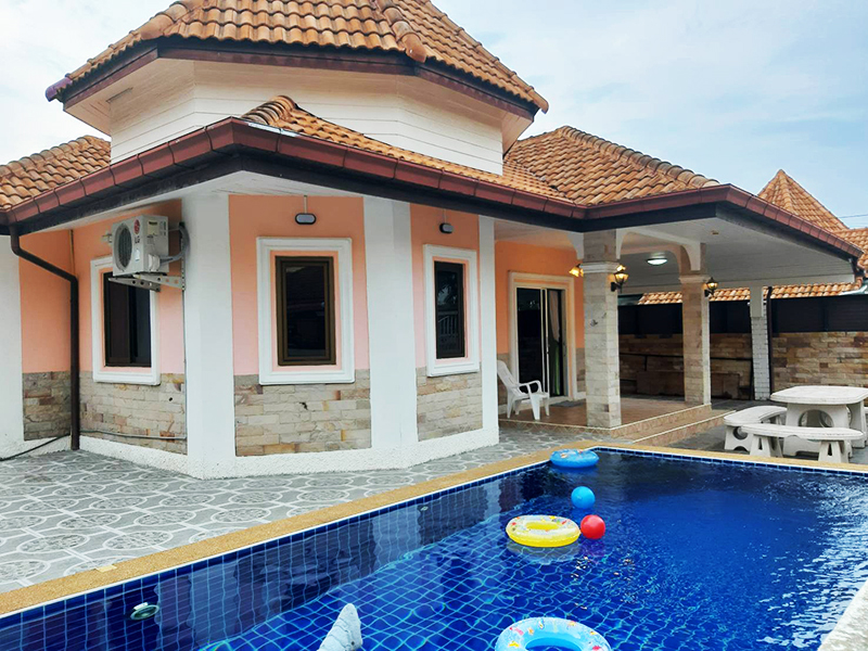 Orange Pool Villas