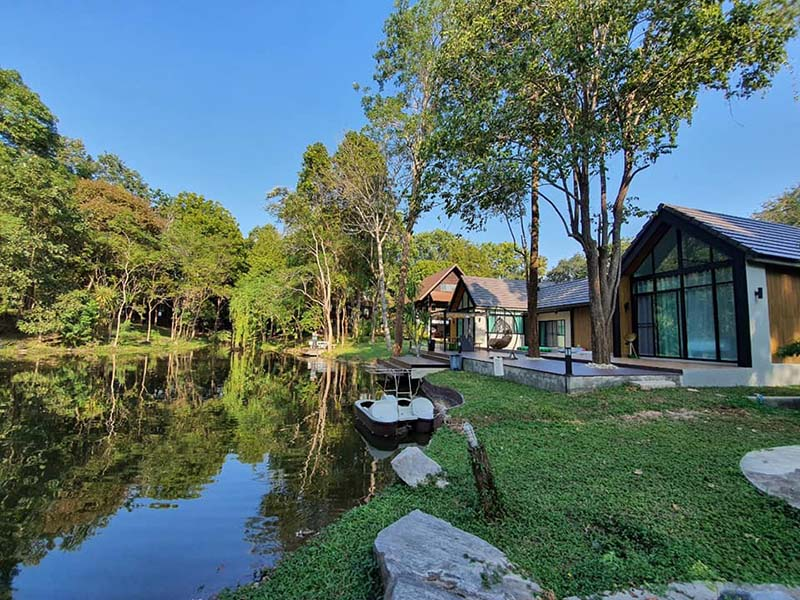 The Lake Hill Pool Villa Kanchanaburi