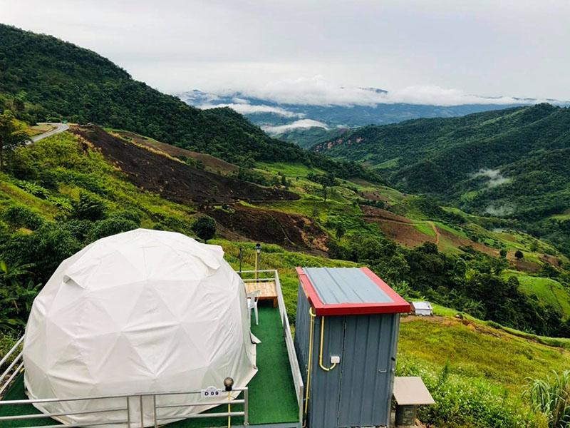The north Glamping